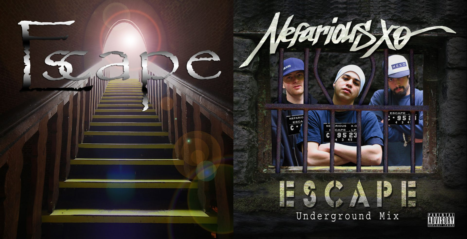 Nefarious XO - Escape Outside Cover Art